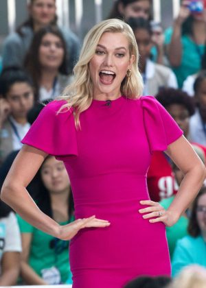 Karlie Kloss - NBC's 'Today' Celebrates The International Day Of The Girl in NYC