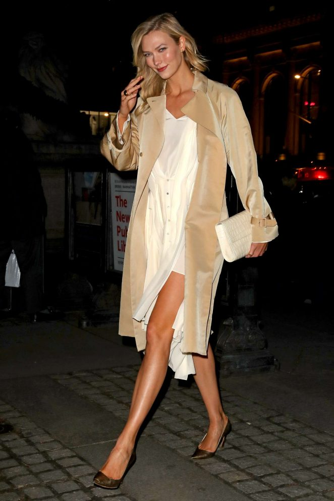 Karlie Kloss: Night out in New York -05