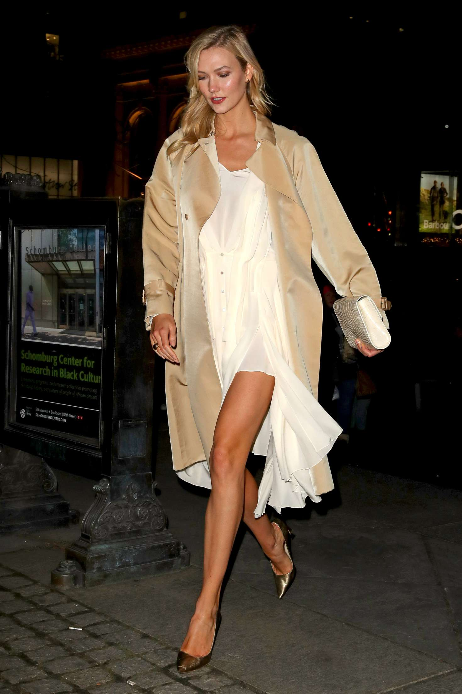 Karlie Kloss - Night out in New York