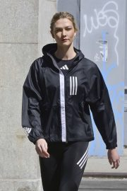 Karlie Kloss - On Adidas Photoshoot in New York