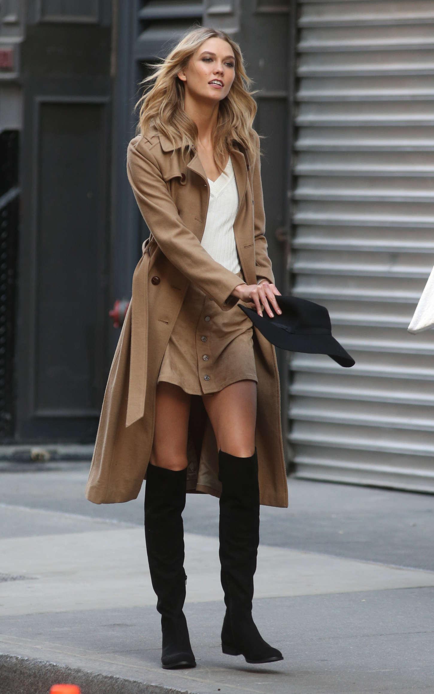 Karlie Kloss 2015 : Karlie Kloss: Photoshoot in NYC -02
