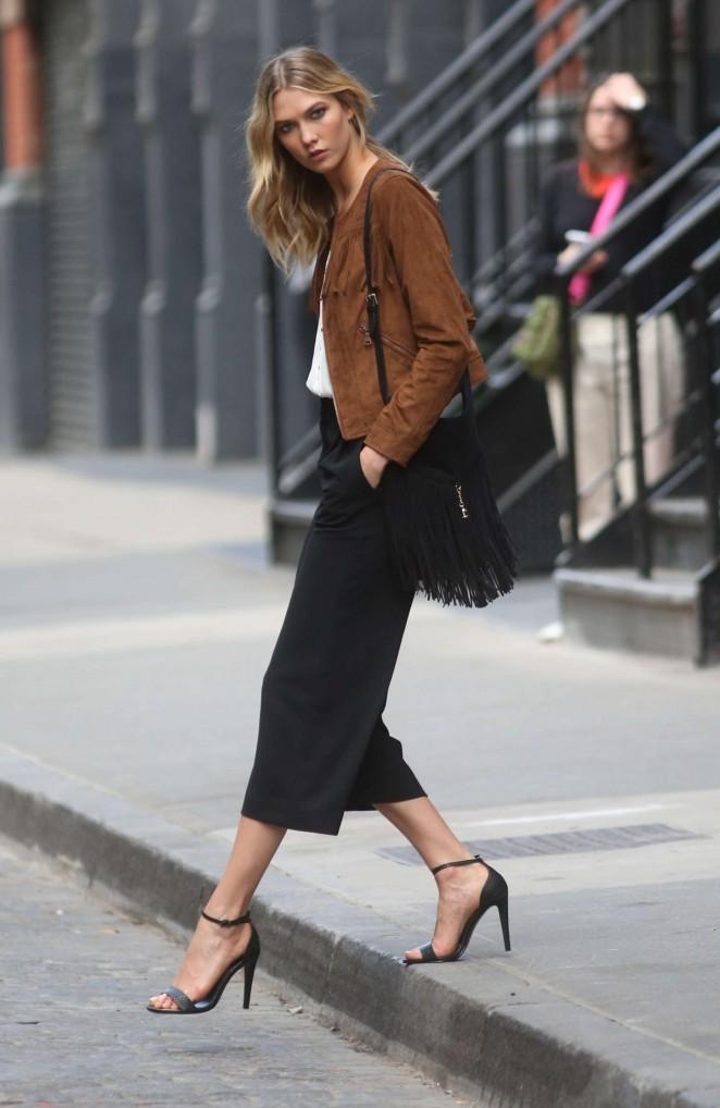 Karlie Kloss 2015 : Karlie Kloss: Photoshoot in NYC -04