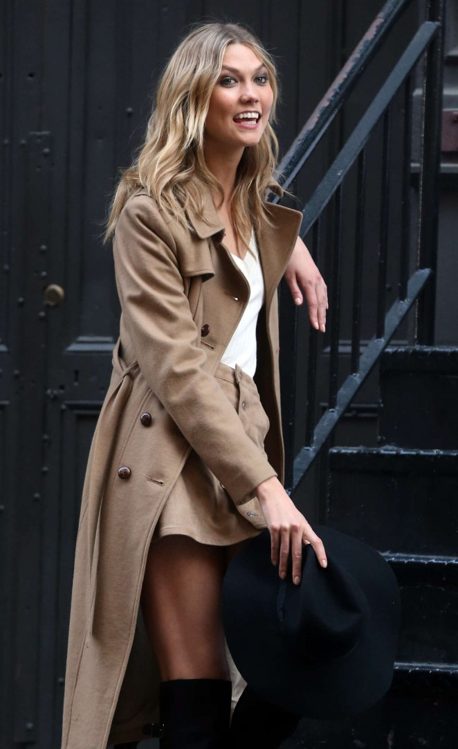 Karlie Kloss 2015 : Karlie Kloss: Photoshoot in NYC -12