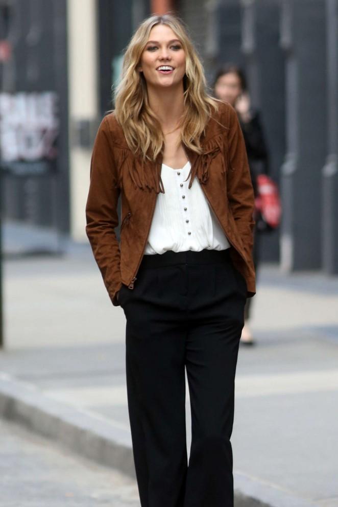 Karlie Kloss 2015 : Karlie Kloss: Photoshoot in NYC -22
