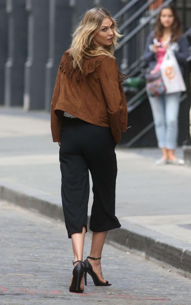 Karlie Kloss 2015 : Karlie Kloss: Photoshoot in NYC -24