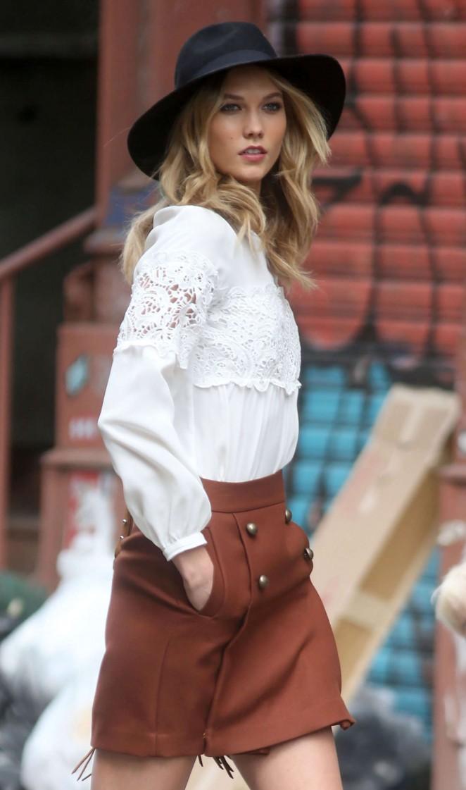 Karlie Kloss 2015 : Karlie Kloss: Photoshoot in NYC -34