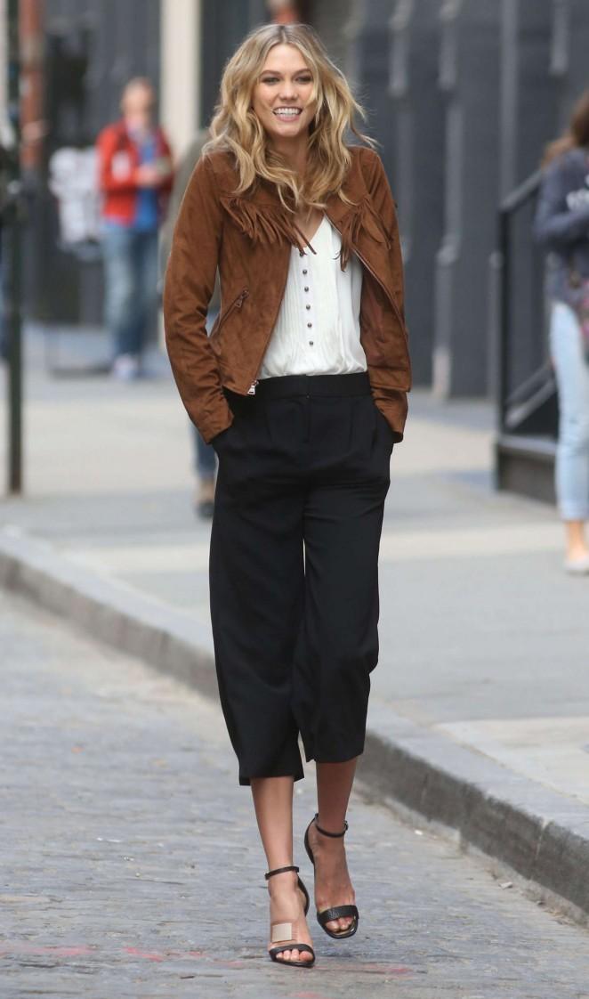 Karlie Kloss 2015 : Karlie Kloss: Photoshoot in NYC -61