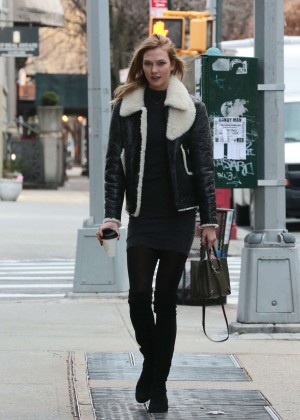 Karlie Kloss out and about at West Village in New York