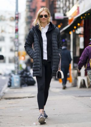 Karlie Kloss out and about in New York City