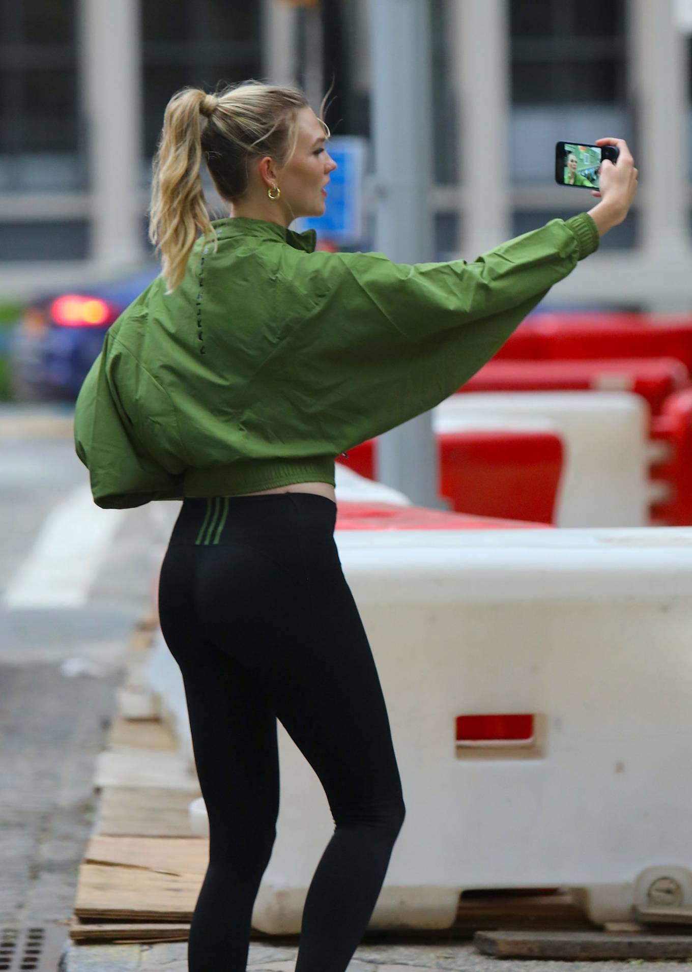 Karlie Kloss - Photoshoot for 'Karlie Kloss x Adidas' in New York