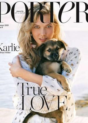 Karlie Kloss - Porter Magazine Cover (Summer 2015)