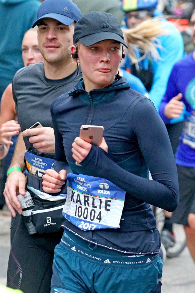 Karlie Kloss - Running the New York Marathon in NYC