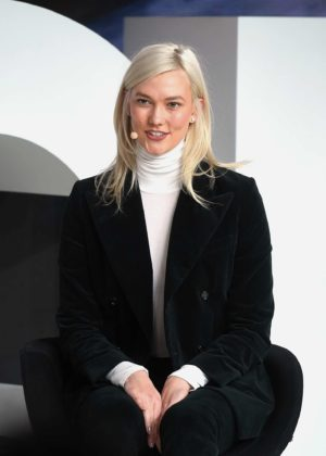 Karlie Kloss - Speaks on stage during #BoFVOICES in Oxford