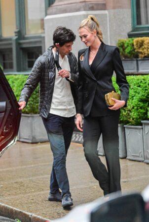 Karlie Kloss - Spotted with Joshua Kushner in New York City