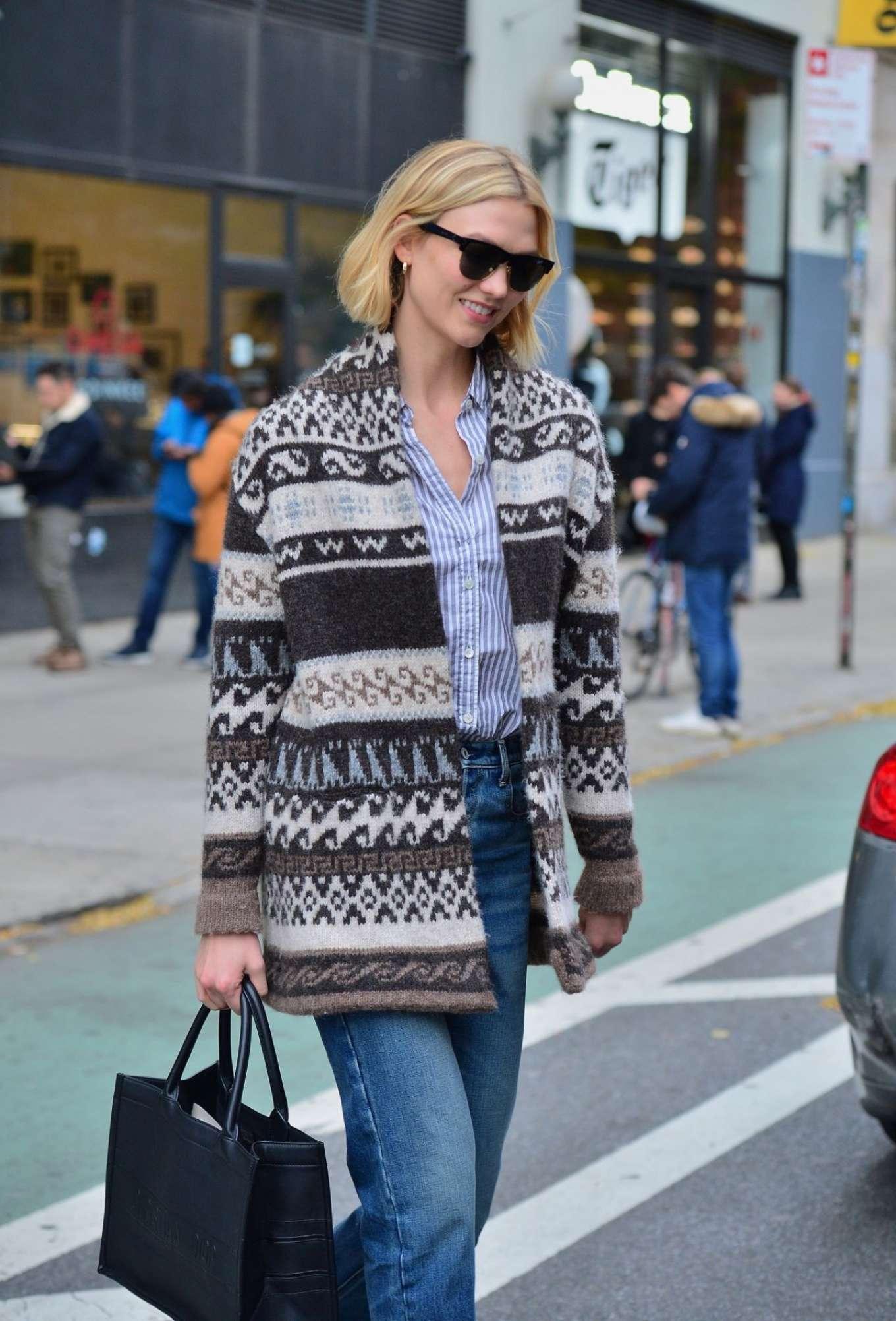 Karlie Kloss 2019 : Karlie Kloss – Street Style out NYC -01