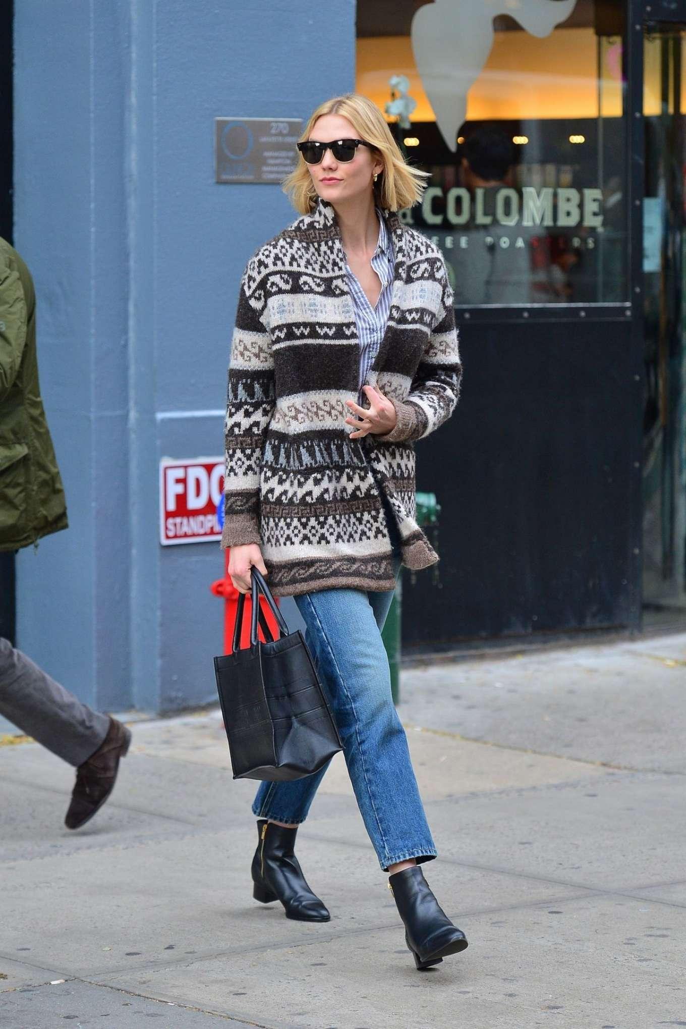 Karlie Kloss 2019 : Karlie Kloss – Street Style out NYC -02