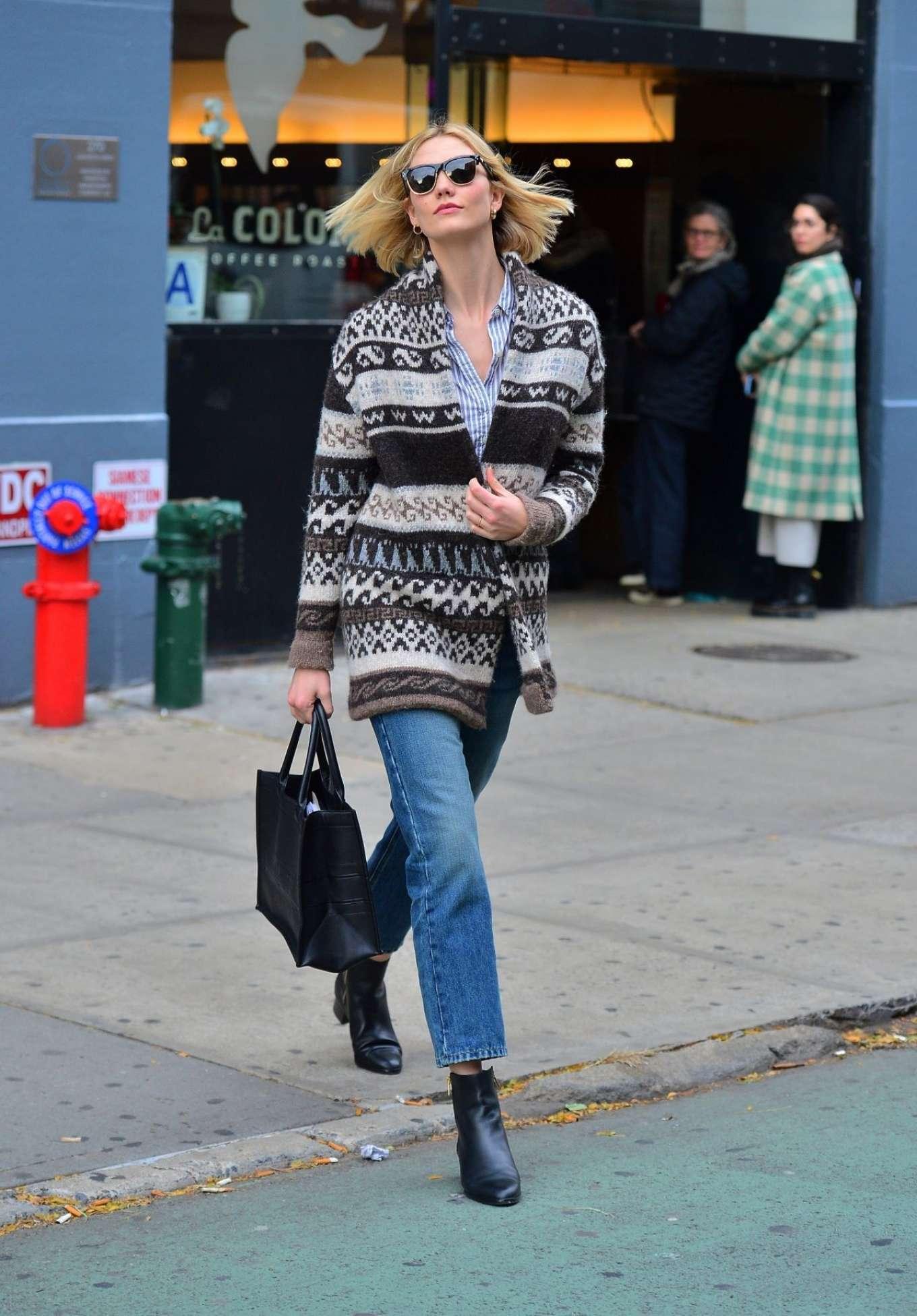 Karlie Kloss 2019 : Karlie Kloss – Street Style out NYC -04