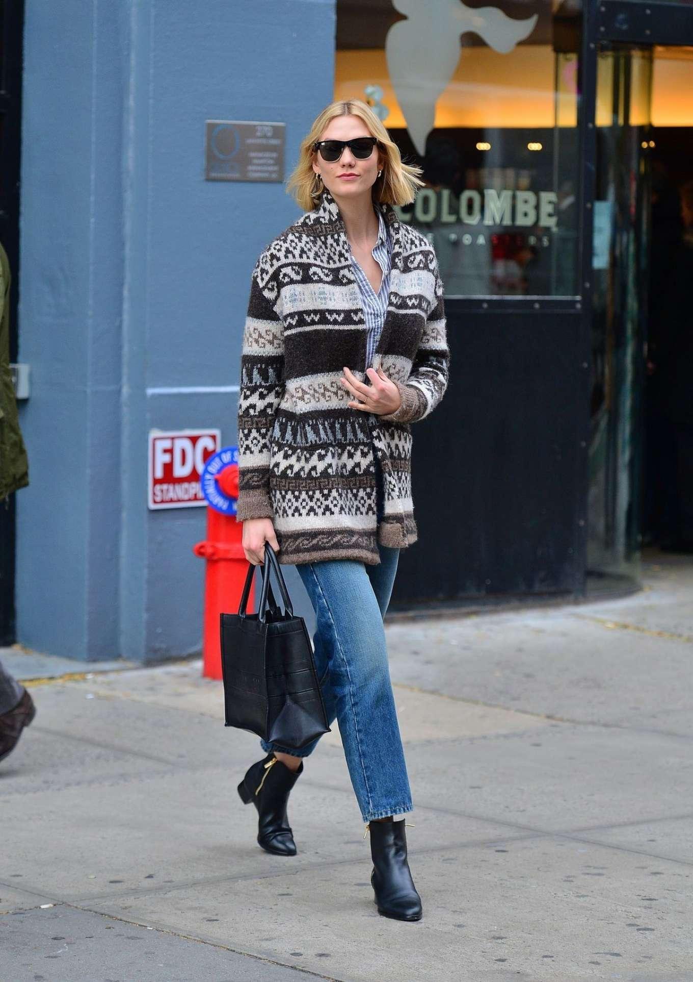 Karlie Kloss 2019 : Karlie Kloss – Street Style out NYC -05