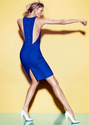 Karlie Kloss - Tamara Mellon 2015 Campaign