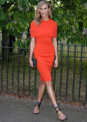 Karlie Kloss - The Serpentine Gallery Summer Party in London