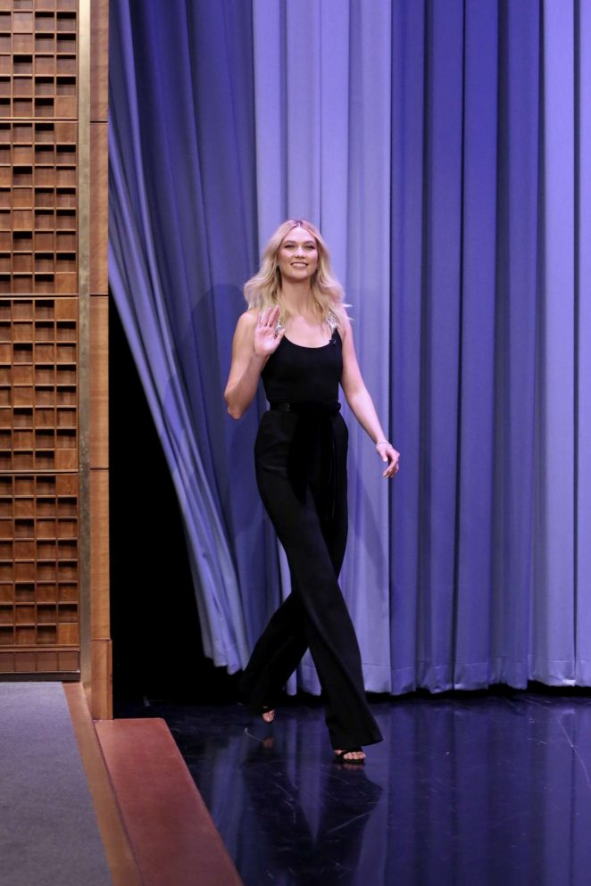 Karlie Kloss - 'The Tonight Show Starring Jimmy Fallon' in NYC