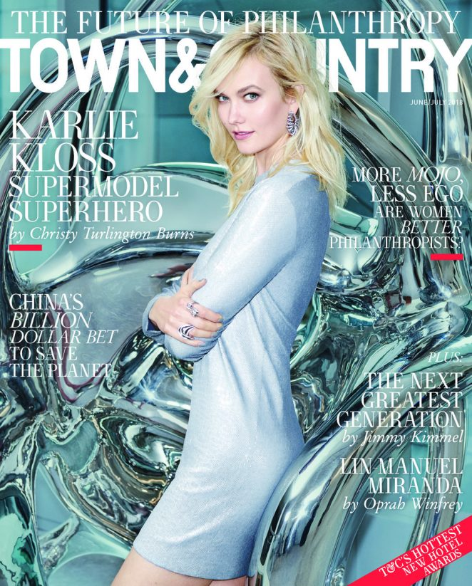 Karlie Kloss - Town and Country Magazine (June 2018)