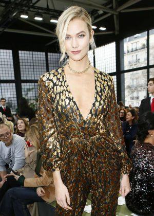 Karlie Kloss - Valentino Fashion Show 2018 in Paris