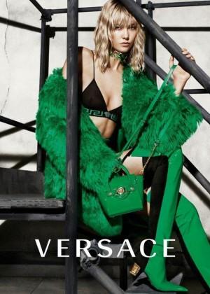 Karlie Kloss - Versace Campaign Fall/Winter 2015