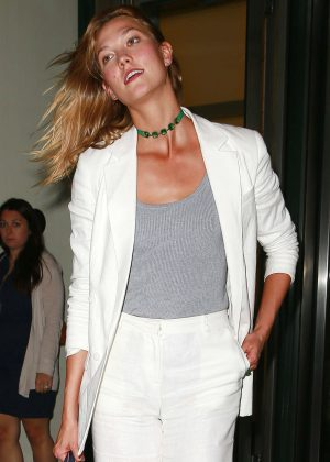 Karlie Kloss Visits the Facebook Offices in New York City