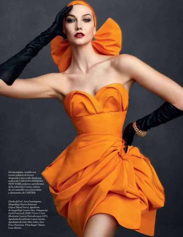 Karlie Kloss - Vogue Espana Magazine (December 2019)
