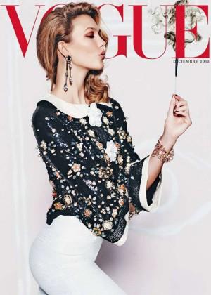 Karlie Kloss - Vogue Mexico Cover (December 2015)