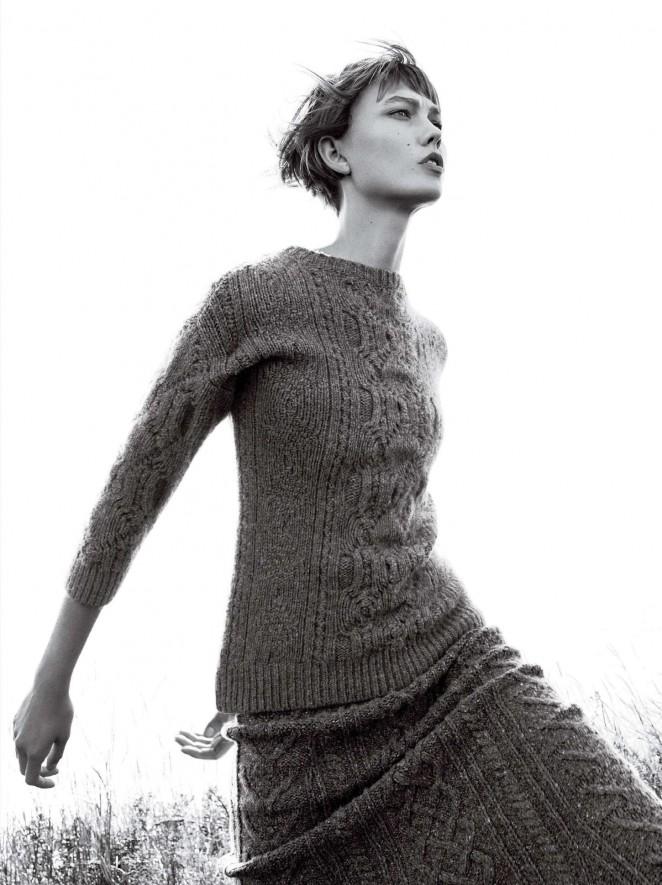Karlie Kloss - Vogue US Magazine (November 2015)