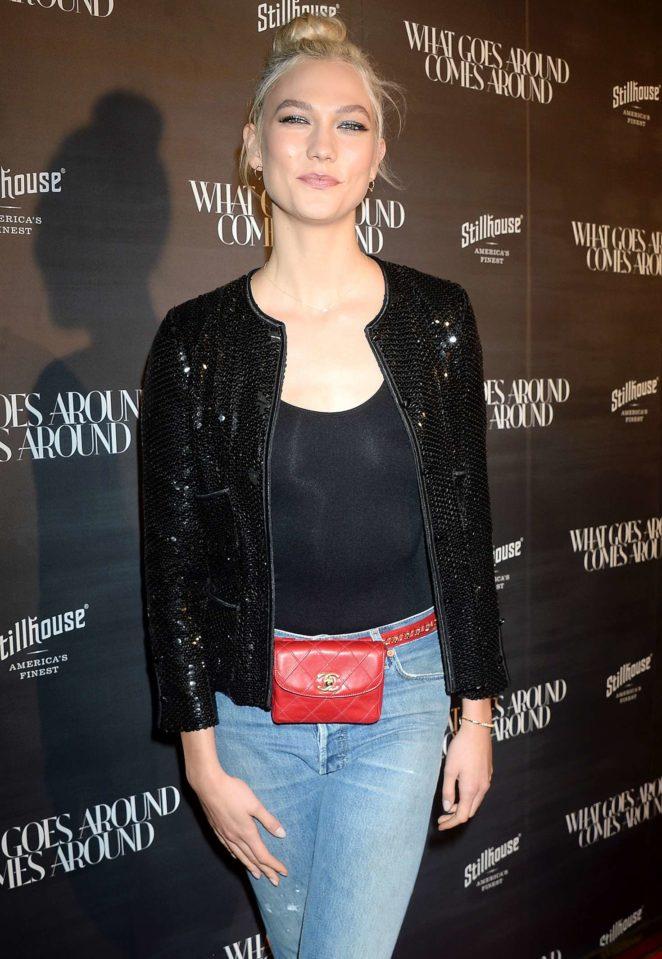 Karlie Kloss – What Goes Around Comes Around One Year Anniversary in LA