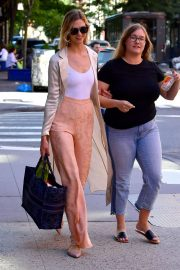 Karlie Kloss with her friend out in NYC