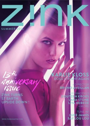 Karlie Kloss - Zink Summer 2015