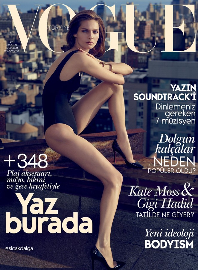 Karolin Wolter - Vogue Turkey Magazine (June 2015)