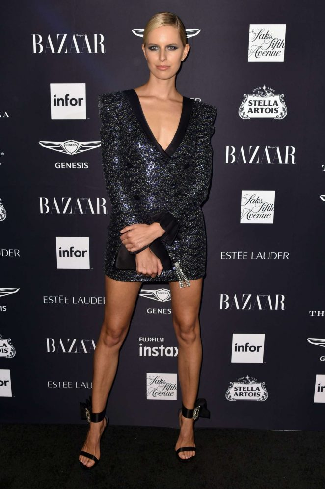 Karolina Kurkova – 2018 Harper's Bazaar ICONS Party in New York