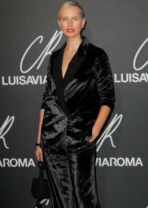 Karolina Kurkova - CR Fashion Book x Luisasaviaroma: Photocall in Paris