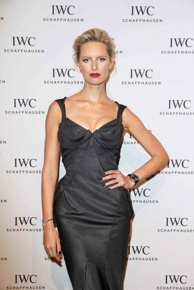Karolina Kurkova - IWC Gala Dinner in Geneva