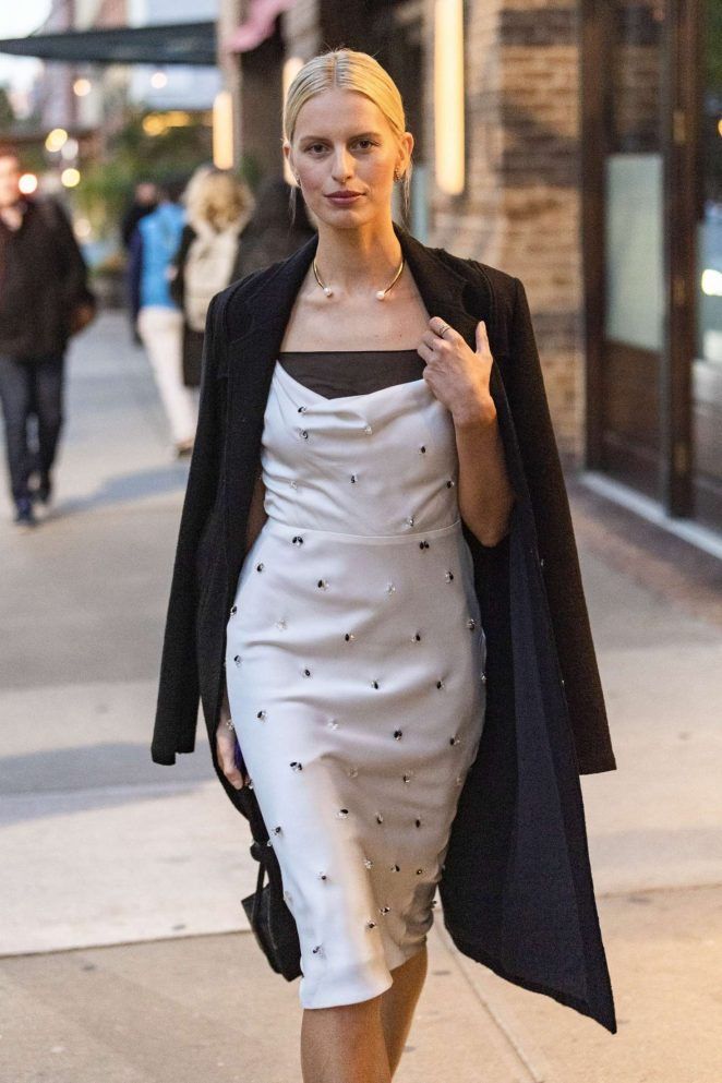 Karolina Kurkova – Leaving The Greenwich Hotel in New York