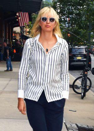 Karolina Kurkova Out in New York