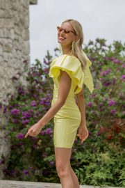 Karolina Kurkova - Wellbeing Summer Lunch in Cannes