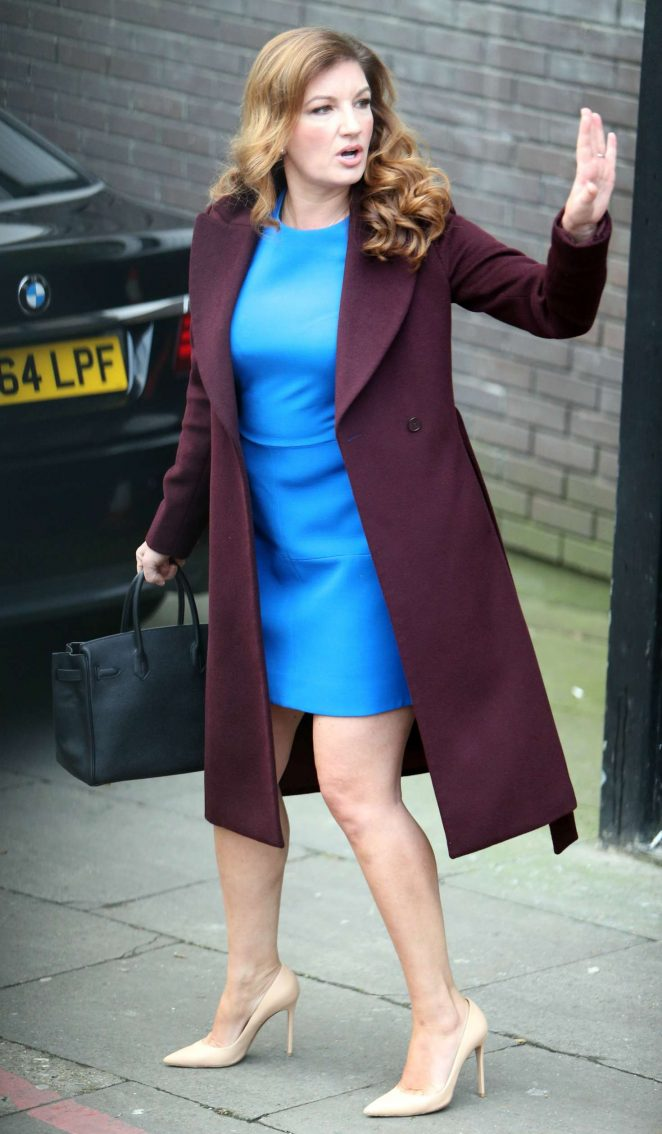 Karren Brady At Itv Studios In London