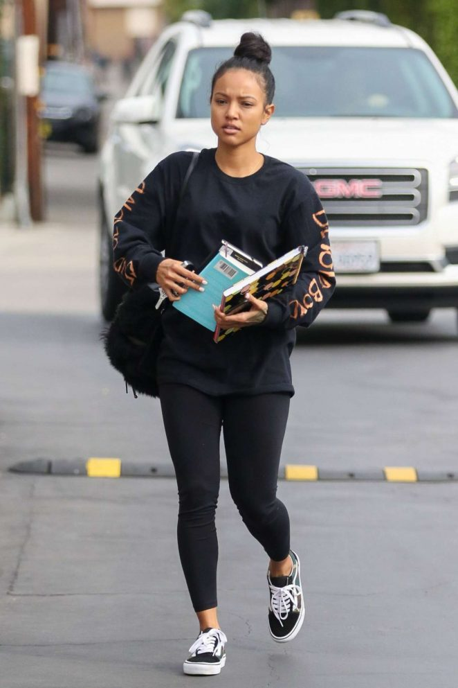 Karreuche Tran in Tight Leggings Out in West Hollywood