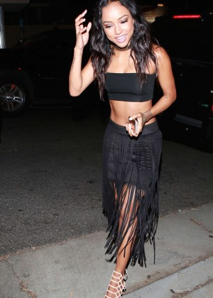 Karrueche Tran - 1 OAK Nightclub in West Hollywood
