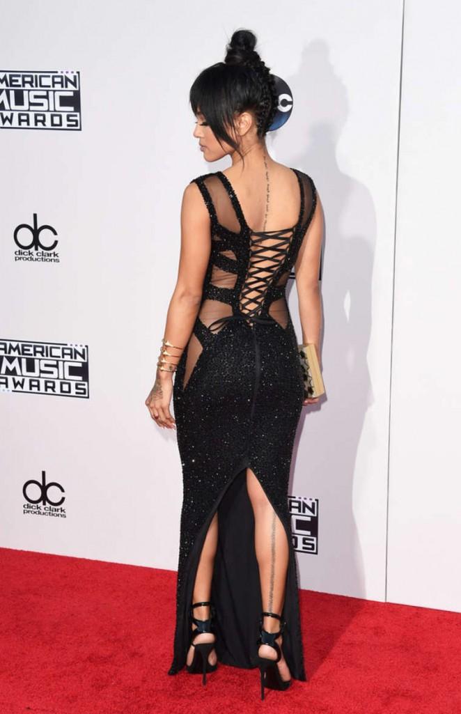 Karrueche Tran: 2015 AMA American Music Awards -05