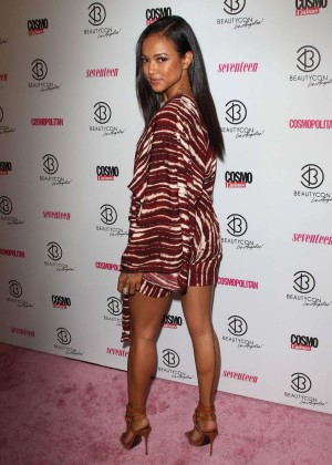 Karrueche Tran - 2015 BeautyCon in Los Angeles
