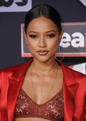 Karrueche Tran - 2017 iHeartRadio Music Awards in Los Angeles