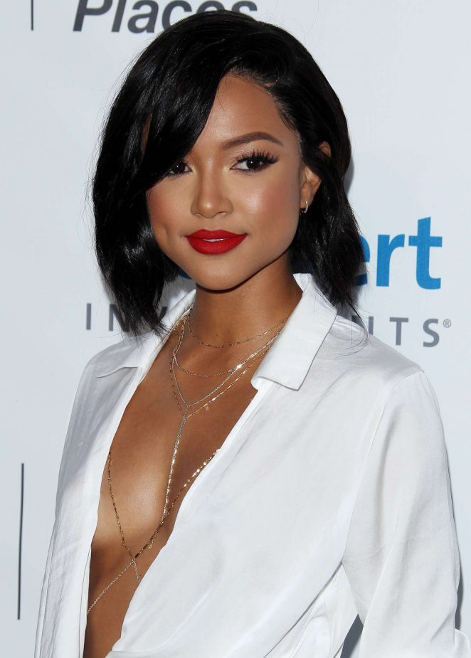 Karrueche Tran - 26th Annual EMA Awards in Burbank