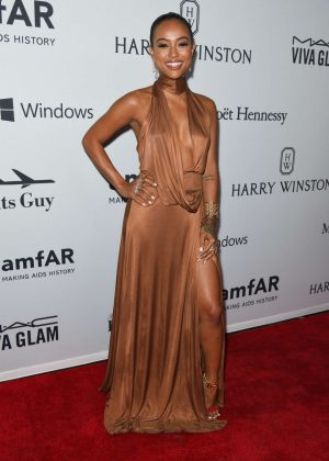 Karrueche Tran - 7th Annual amfAR Inspiration Gala in New York